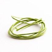 Cordon coton vert